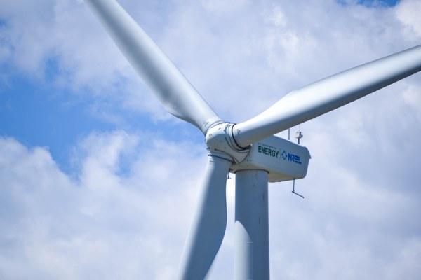 Bilde av vindmølle
